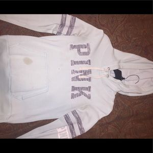 VsPink Hooded Sweater